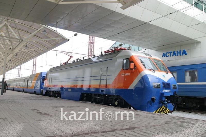 График движения поездов  изменится с 22 мая в Казахстане