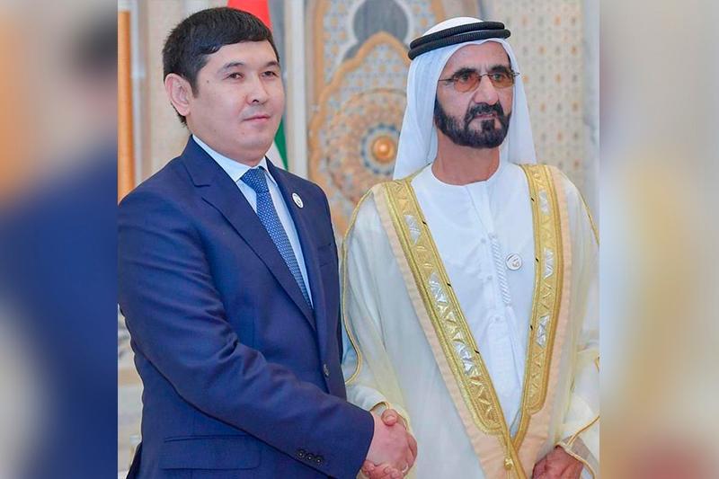 Посол Казахстана вручил верительную грамоту премьер-министру ОАЭ