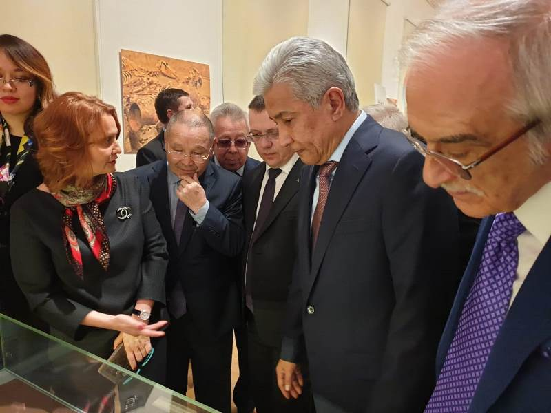 Great Steppe's Gold exhibition shows highest level of Kazakhstan culture: member of Russian Academy of Sciences