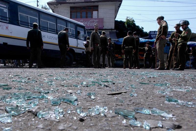 印控克什米尔地区发生手榴弹袭击 已导致1死29伤