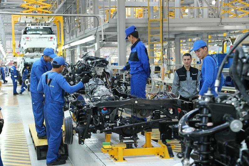 哈萨克斯坦汽车生产量稳步提升