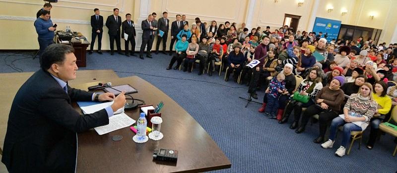 Булат Бакауов: Мы решим все задачи, поставленные Елбасы