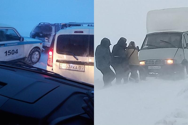 64 cars stuck in snow in W Kazakhstan rescued