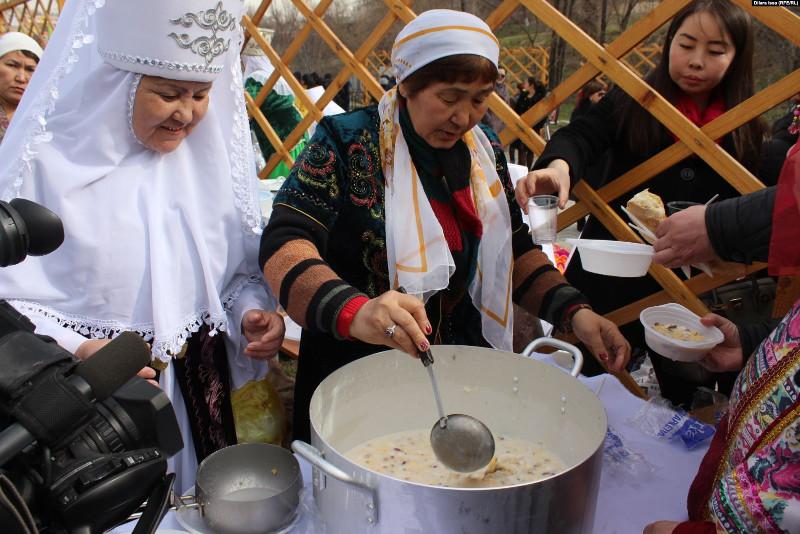 Как готовят наурыз коже на юге Казахстана