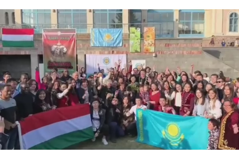Венгрия празднует весенний праздник Наурыз