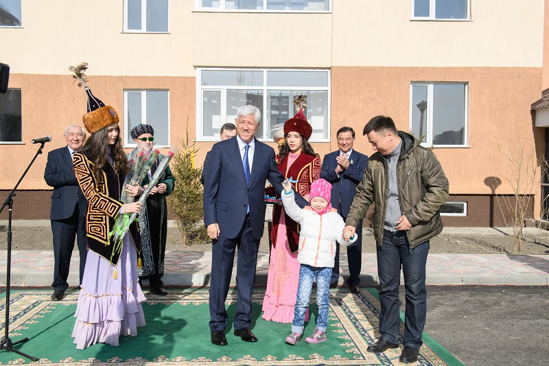 56 семей стали новоселами в Талдыкоргане