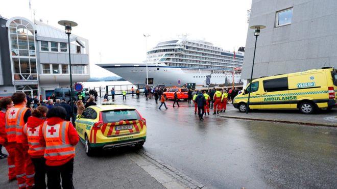挪威遇险邮轮上有两名哈萨克斯坦乘客
