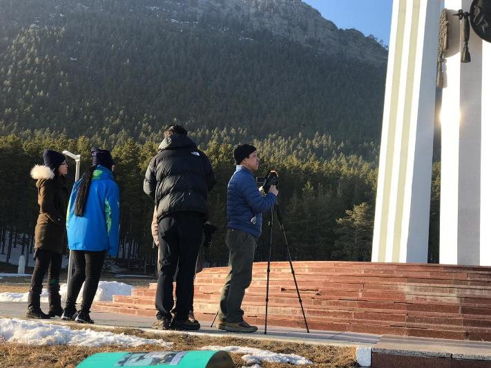 Красоту Бурабая и казахскую культуру запечатлел на Наурыз телеканал из Южной Кореи