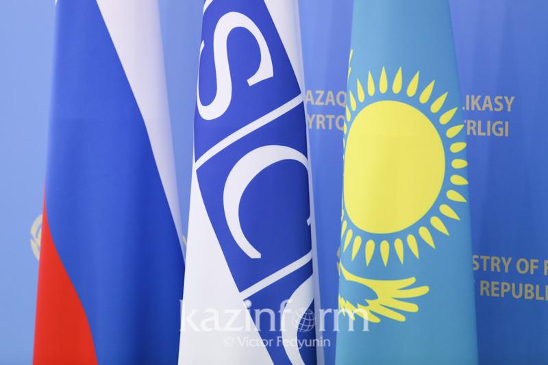 Перспективы сотрудничества Казахстана и ОБСЕ обсудили в МИД РК