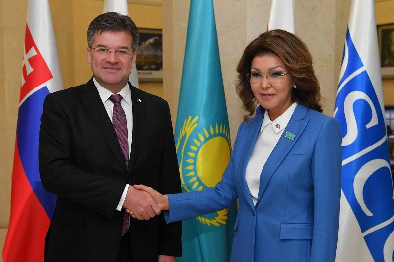 Дарига Назарбаева провела встречу с председателем ОБСЕ