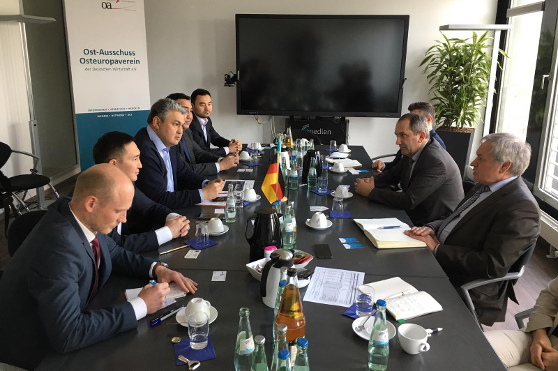 Foreign direct investments to Kazakhstan from Germany exceeded  3mn in 2018