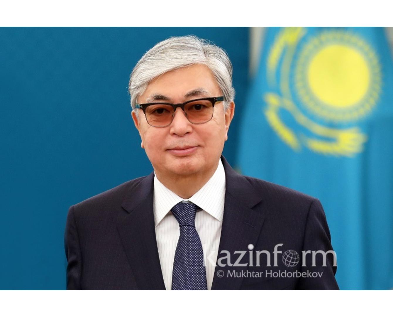 托卡耶夫总统抵达阿拉木图州 将观摩