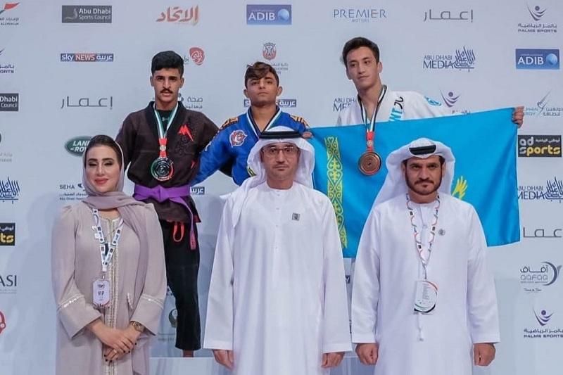 Казахстанец стал бронзовым призером ЧМ по джиу-джитсу в Абу-Даби
