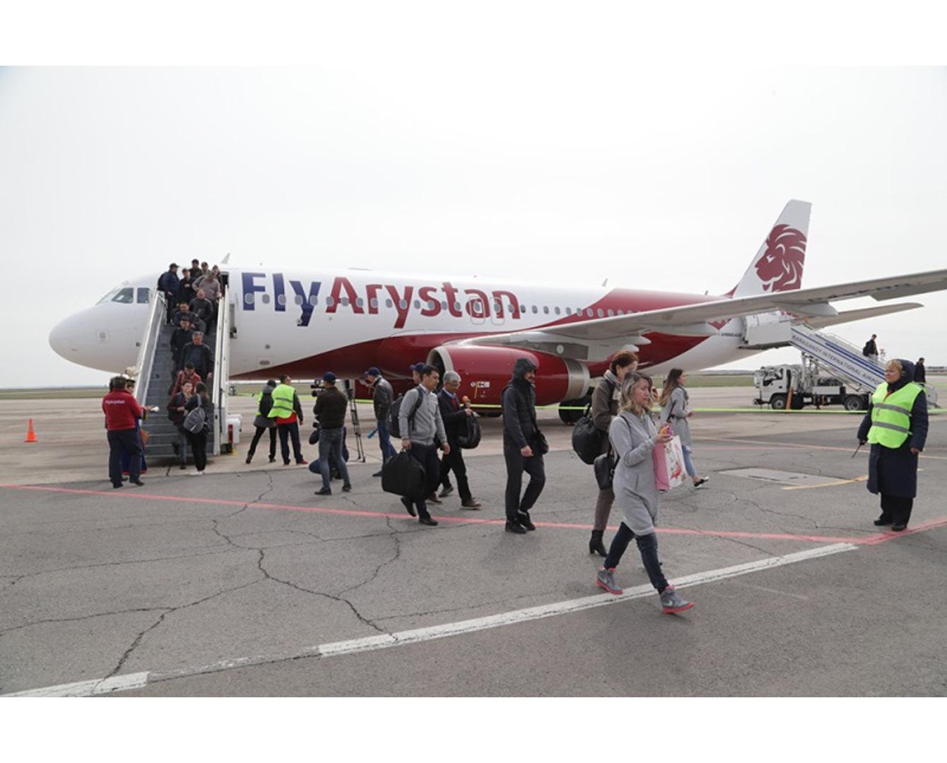 FlyArystan qyzmetine 50 myń jolaýshy júgingen