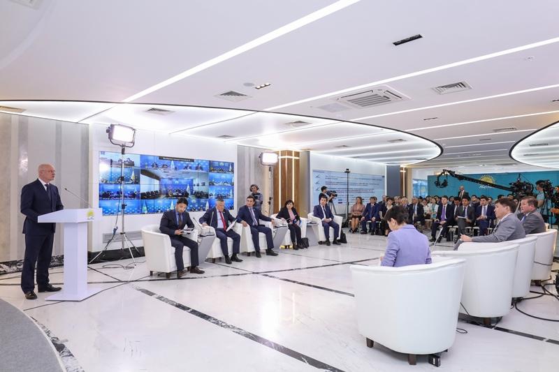 Роман Скляр: Казахстан первый в СНГ по введенному жилью на одного человека