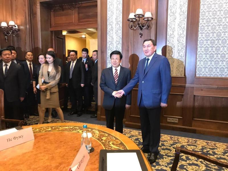 哈斯莫夫出席上合组织安全会议秘书第十四次会议
