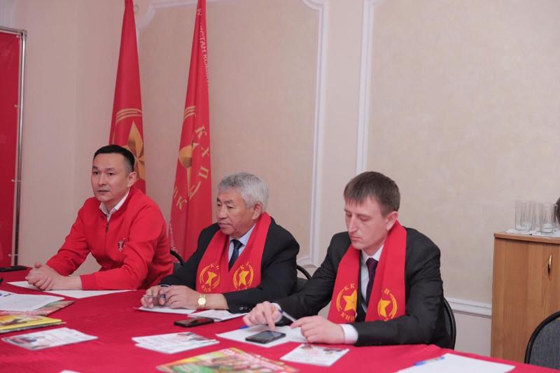 Совещание депутатов фракции «Народные коммунисты» с областными штабами прошло в столице