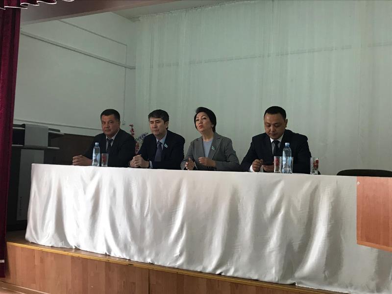 Костанайскую область посетила кандидат в Президенты РК Дания Еспаева