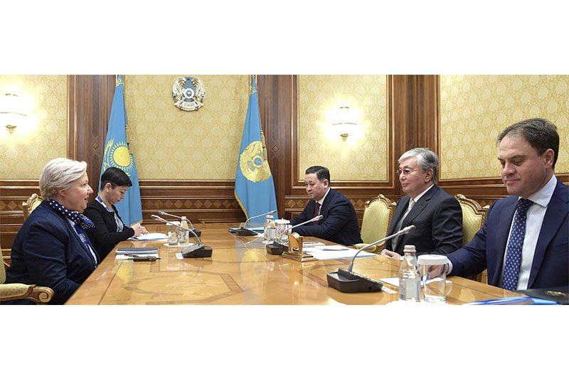 Президент Казахстана принял главу миссии наблюдателей БДИПЧ/ОБСЕ