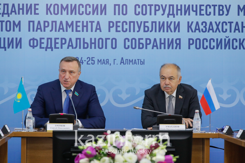 Kazakh, Russian senators mull over cooperation