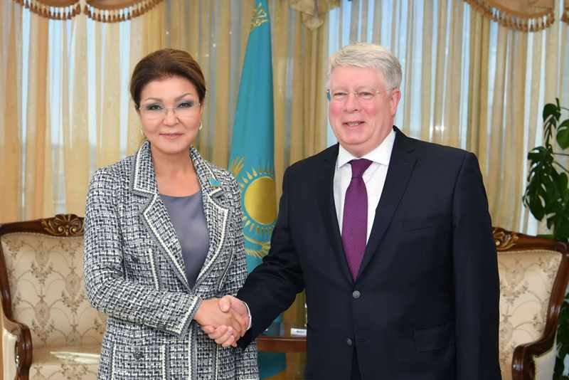 Kazakh Senate Speaker, Russian Ambassador meet in Nur-Sultan