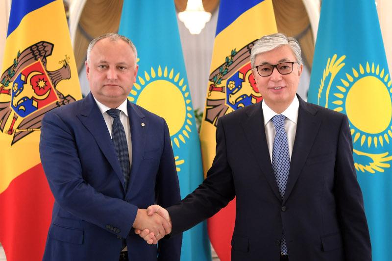 Qasym-Jomart Toqaev: Moldovamen yntymaqtastyqty nyǵaıtýǵa nıettimiz