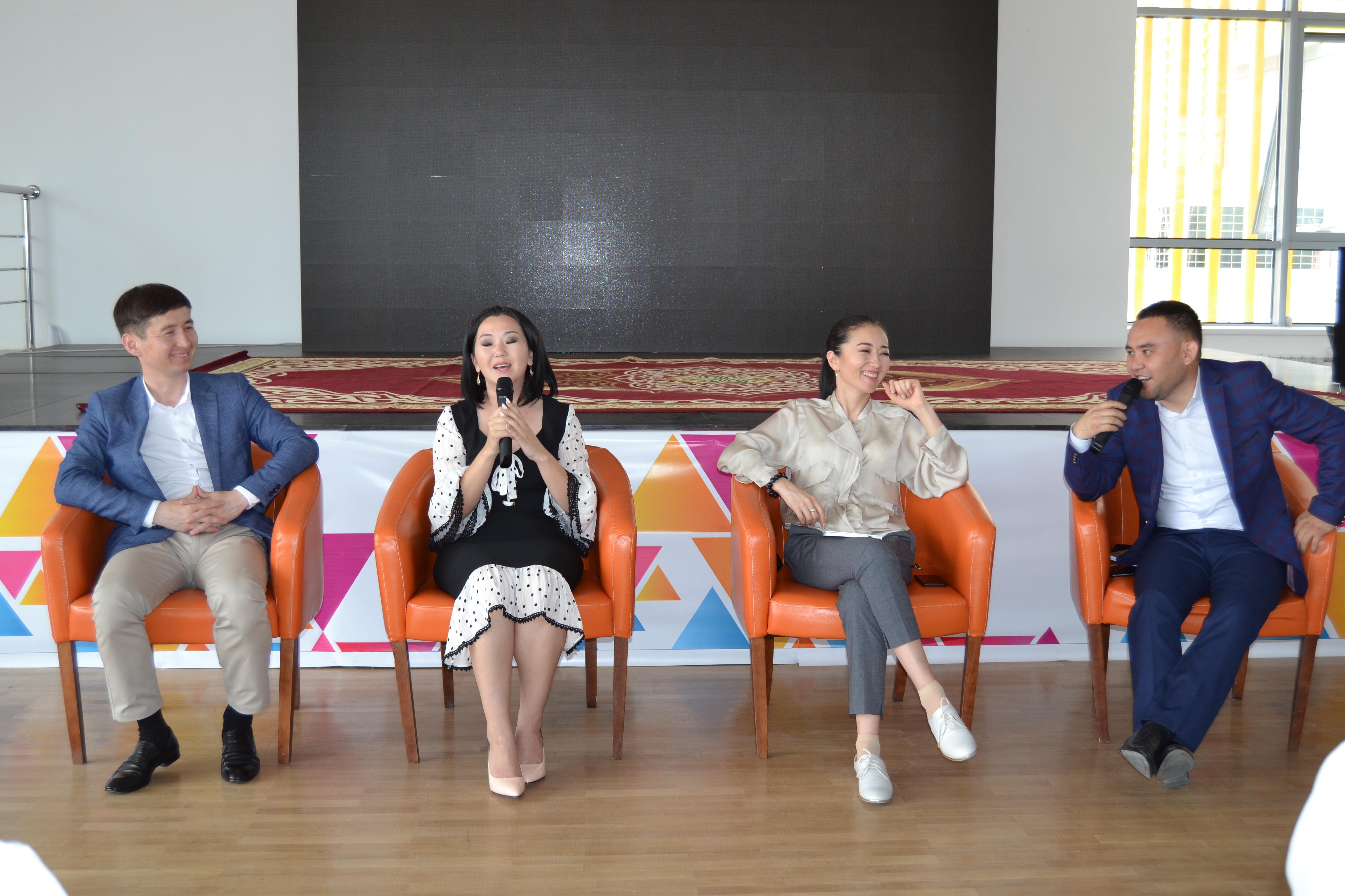 Кызылординская молодежь встретилась с победителям проекта  «100 новых лиц Казахстана»