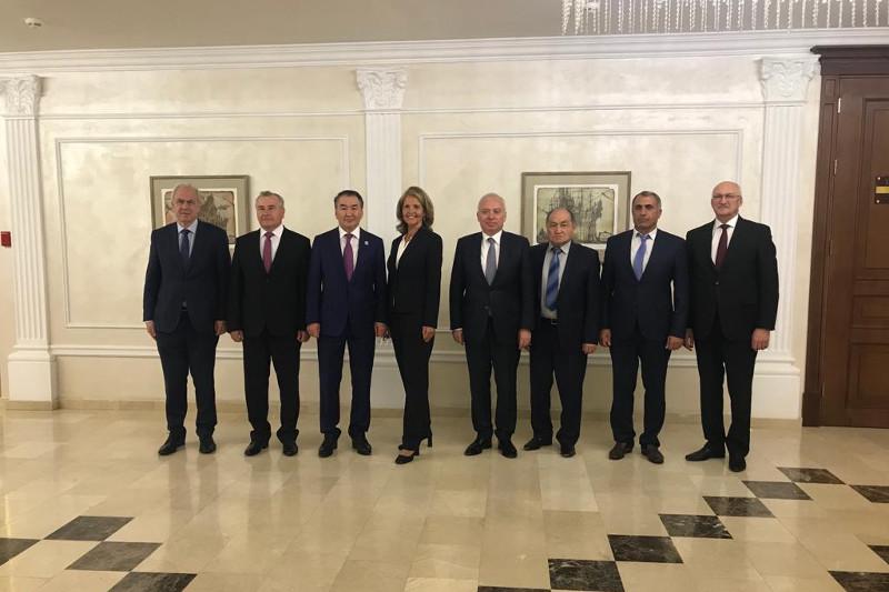 Кайрат Мами  выступил на встрече с Президентом Беларуси