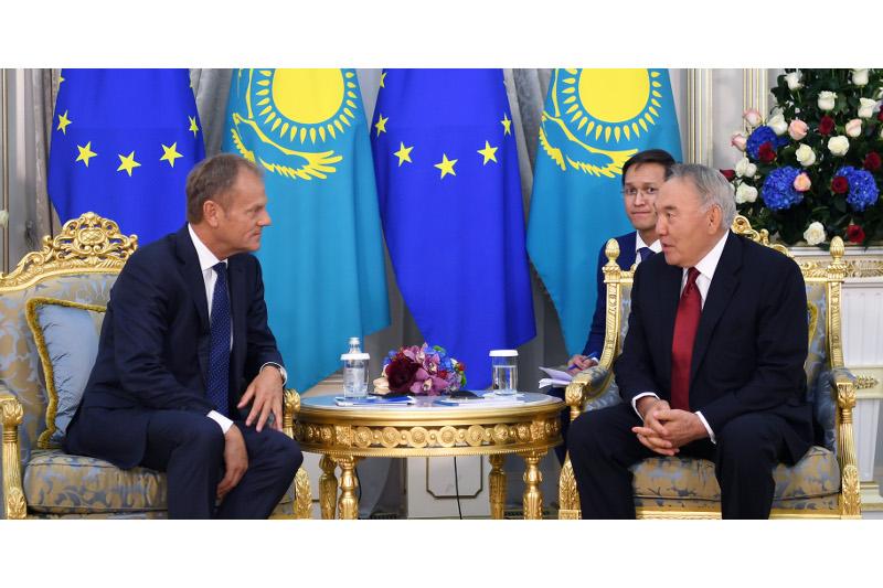 Нұрсұлтан Назарбаев Қазақстан мен Еуропа одағы арасындағы қатынасқа баға берді
