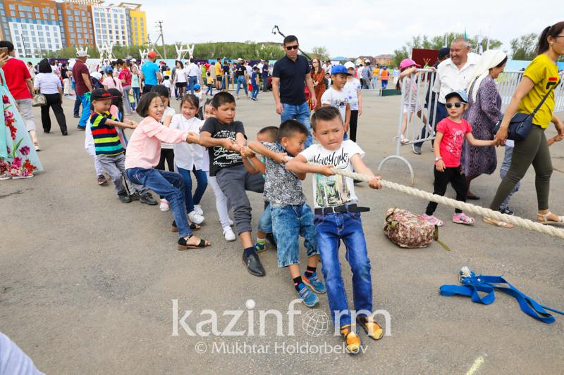 Как проходит «Nur-Sultan Ethno Fest»  в столице