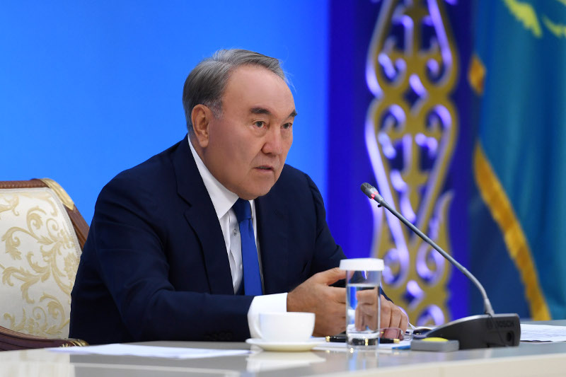 We set example for everyone - Nursultan Nazarbayev about transition of power