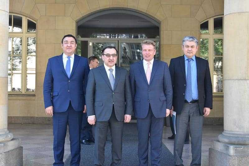 Kazakh delegation attends Day of German Industry
