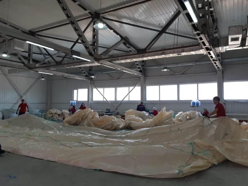 Производство мягких контейнеров открыли в Актобе