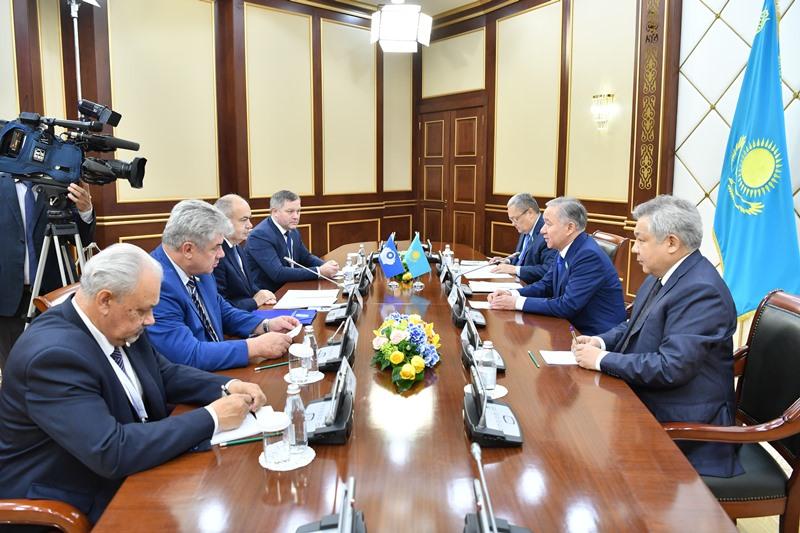 Нурлан Нигматулин принял наблюдателей за выборами от МПА СНГ