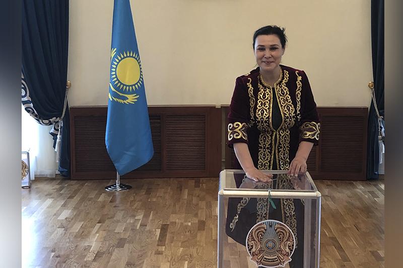 Майра Мухамедкызы: Каждый гражданин должен участвовать в выборах