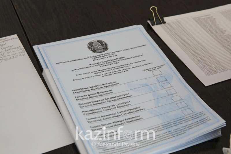23 граждан РК проголосовали на президентских выборах в ташкентской клинике