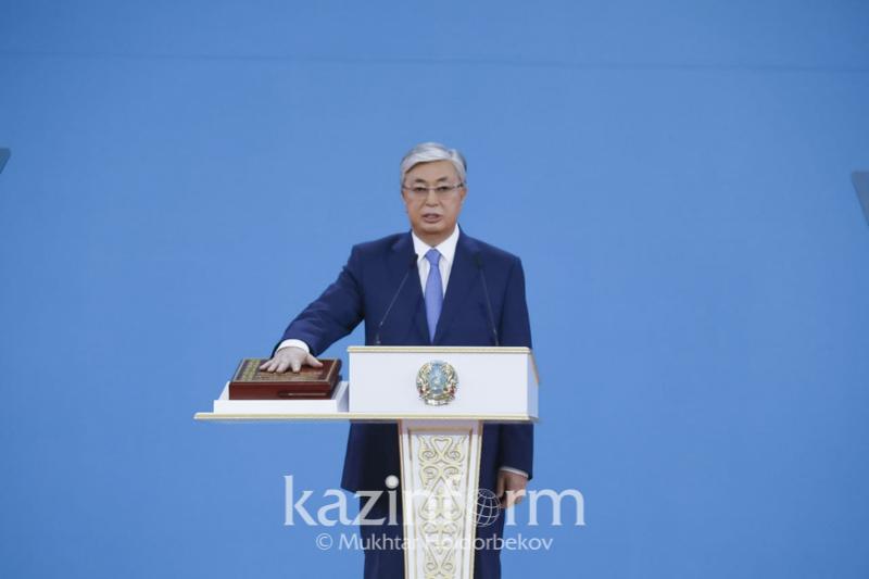 托卡耶夫总统就职典礼演讲全文
