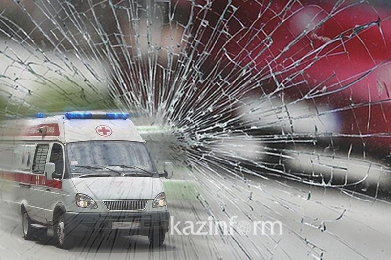 Авария на трассе в Акмолинской области: 6 человек погибли и 6 госпитализированы