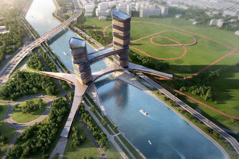 首都将建起一座全新的跨河大厦