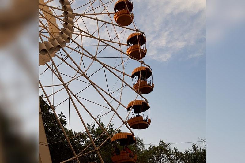 В Уральске произошло ЧП на колесе обозрения
