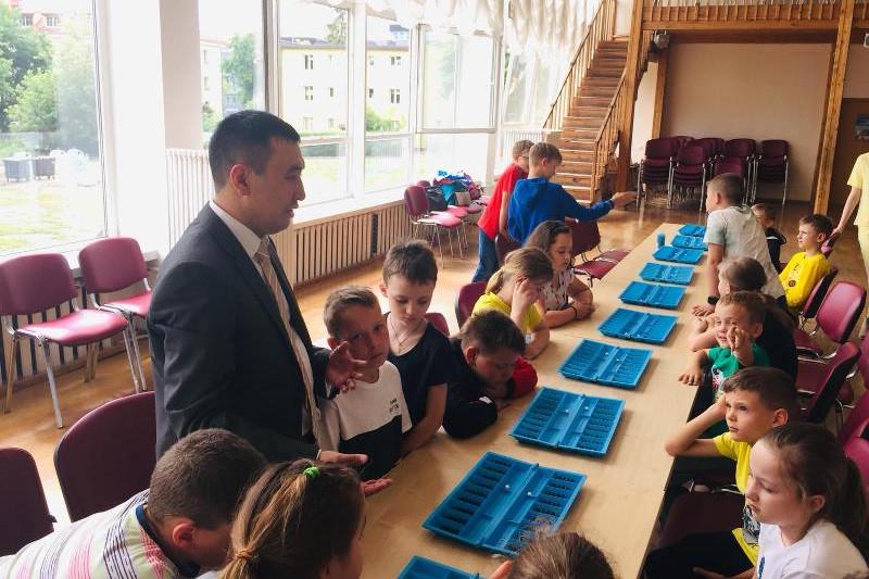 Впервые состоялись соревнования по тогызкумалак в Литве