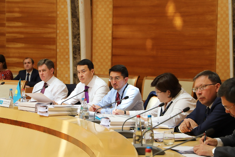 Алихан Смаилов принял участие в заседании Совета Евразийской экономической комиссии