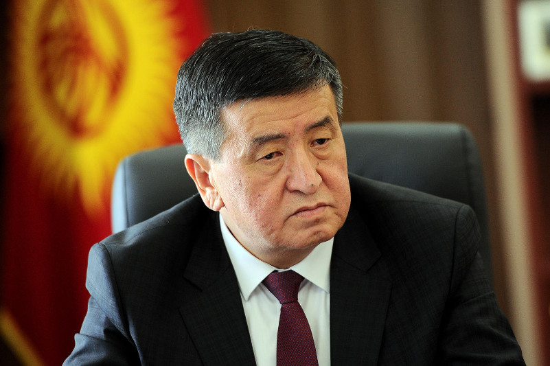 Kyrgyz President condoles with Kazakhstan over Arys tragedy