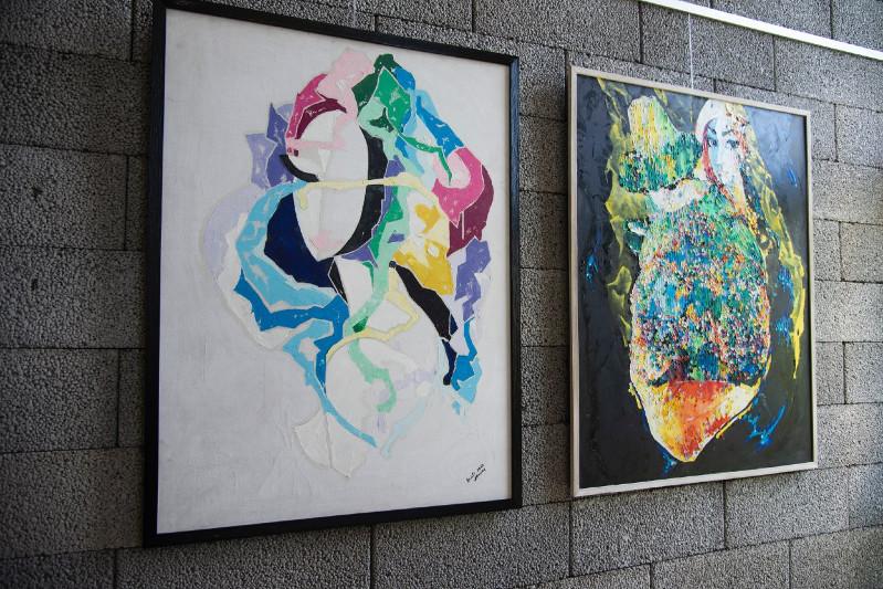 В рамках «Рухани жаңғыру» состоялся прибалтийский тур художницы Раузы Ералиевой