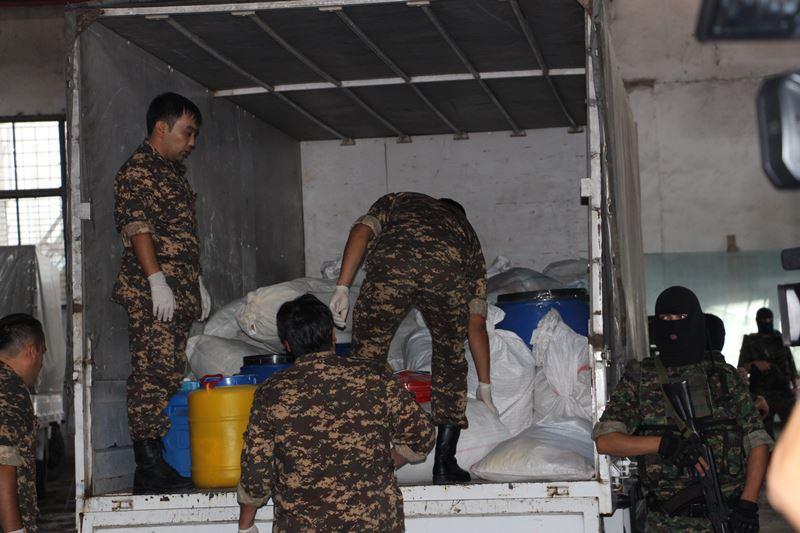 Более тонны наркотиков уничтожили в Ташкенте
