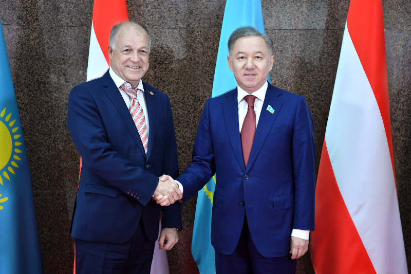 Kazakhstan and Austrian Parliaments pledge to promote cooperation