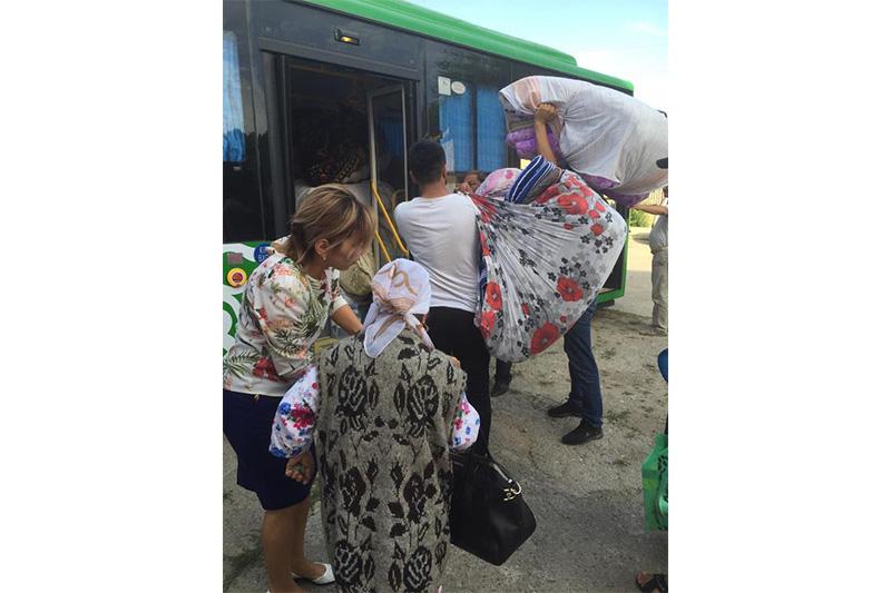150 автобусов для возвращения жителей Арыси выделил акимат Шымкента