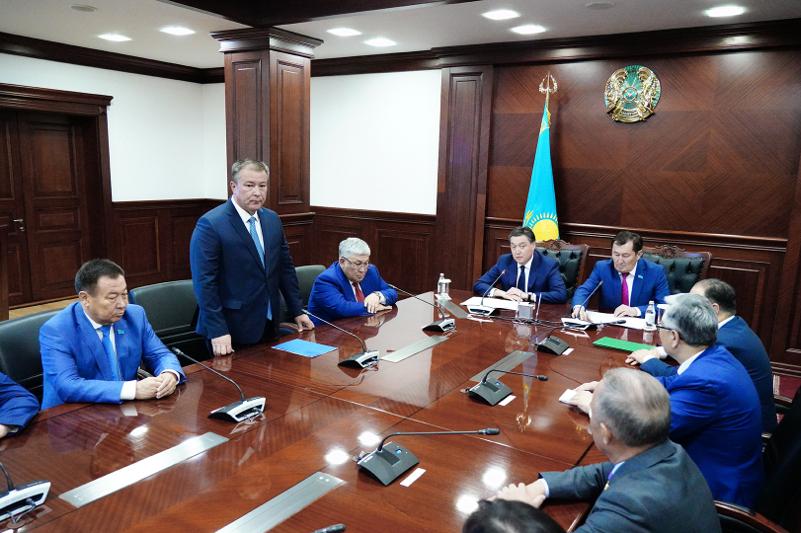 Премьер-Министр РК представил активу Кызылординской области нового акима