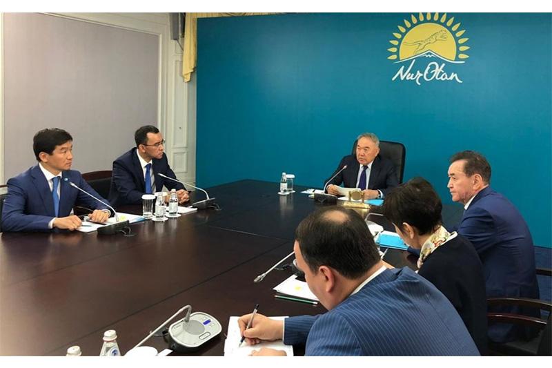 Бауыржан Байбек стал первым заместителем председателя партии Nur Otan
