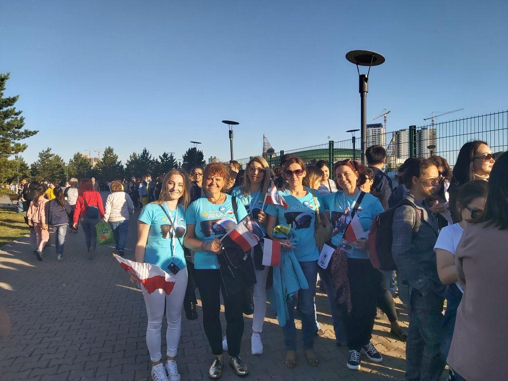 Я приехала в Казахстан на концерт Димаша - жительница Польши Андлиша Индрашка